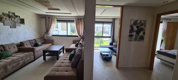 Appartement entier bien meublé et bien situé