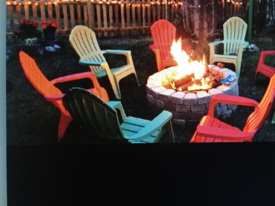 Enjoy a perfect evening by the fire