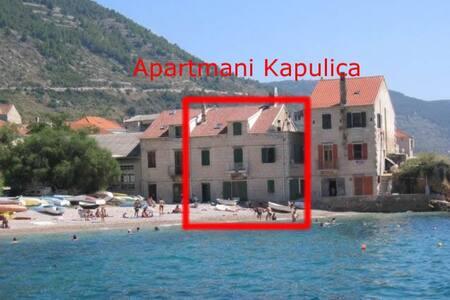 Komiza, Vis, Apartment on the Beach