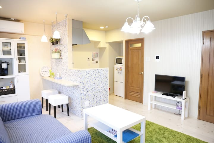 201 Newly Renovated APT in KOBE - Kōbe-shi Chuo-ku - Apartemen