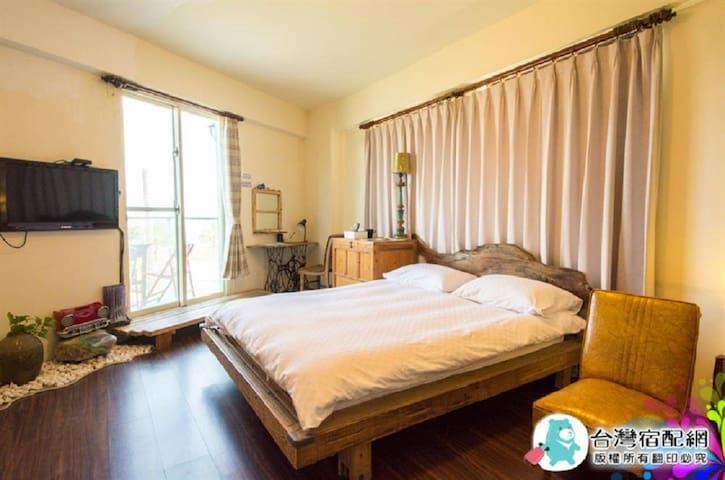 Sea View Room3 (Double room,Hualien city center)