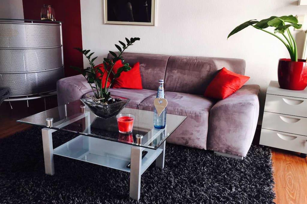 sch nes privates appartement lofts zur miete in dortmund nordrhein westfalen deutschland. Black Bedroom Furniture Sets. Home Design Ideas