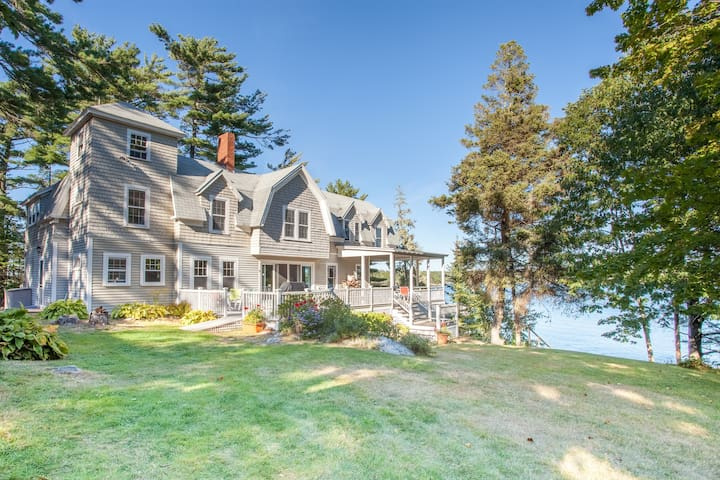 Green Landing Lodge -East Boothbay Oceanfront Home