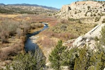 Yours to explore. This is our land along the Rio Ojo Caliente.