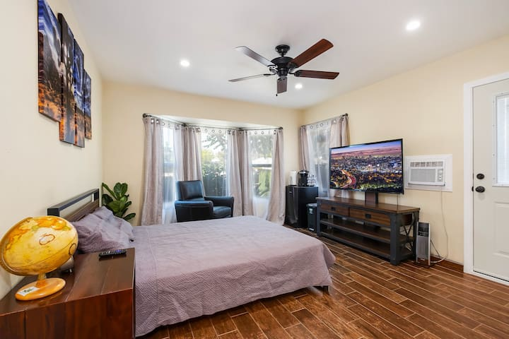 New!! Private JR Suite 24h/self check-in LAX,DTLA