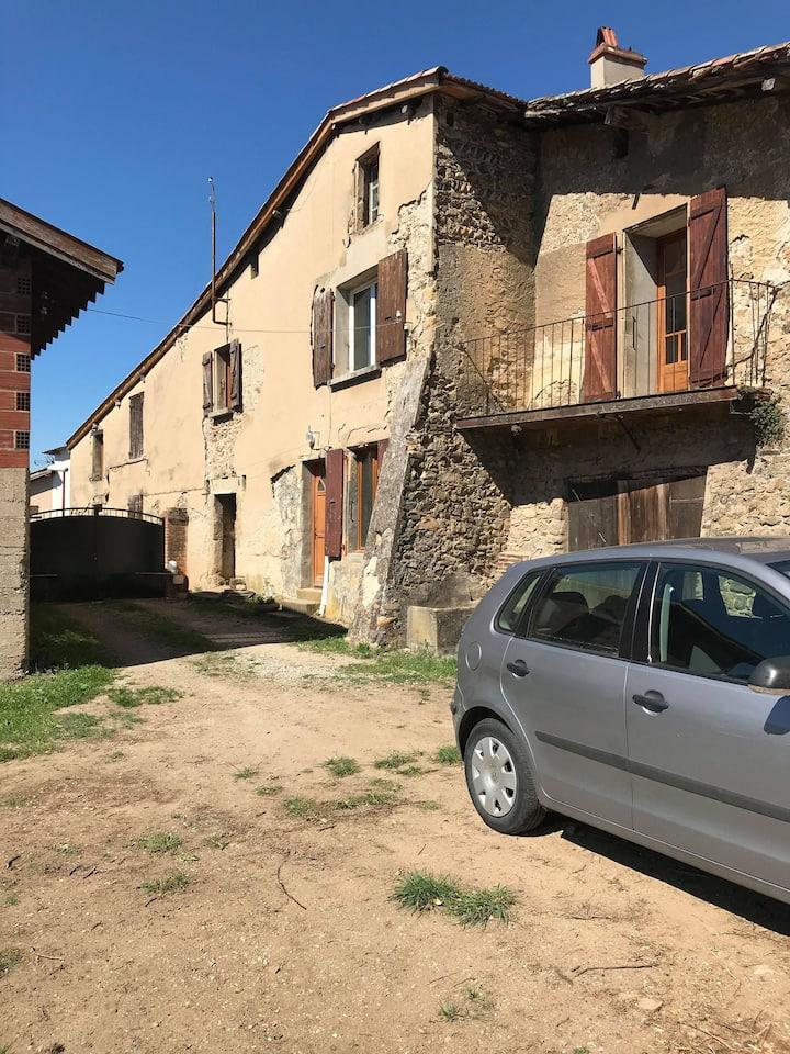 Corps de ferme d'époque au cœur de la Drôme