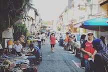 Jonker Street Sunday Flee Market about 10 min on foot