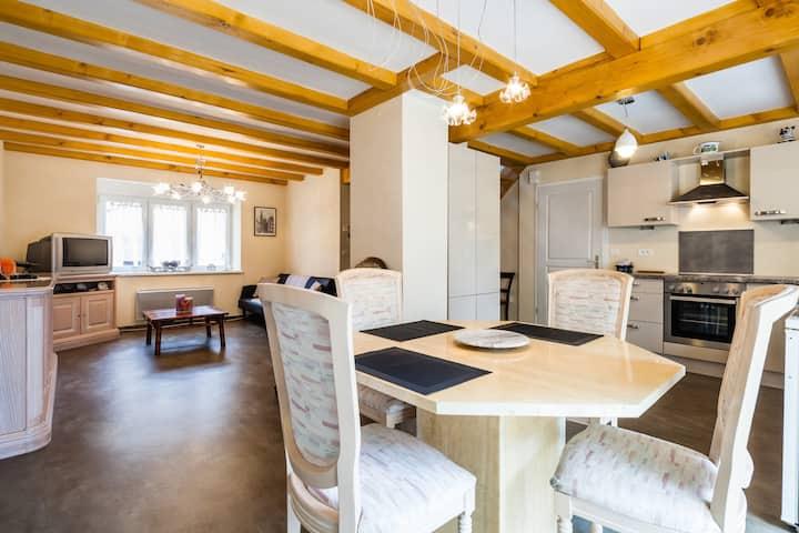 Maison 100 m2 en Alsace au pied des Vosges