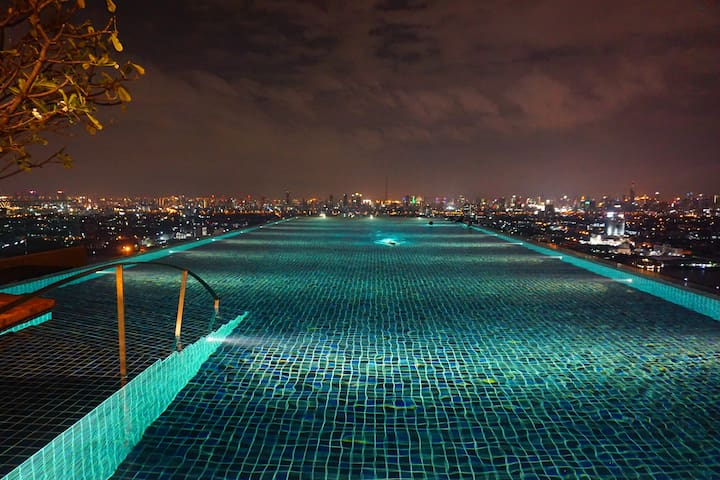 Studio apartment | Infinity pool | Great view