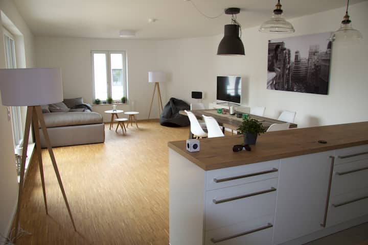 Spacious, modern flat perfectly located to Munich