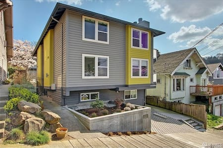 Franklin Guest House - East Lake Union - Seattle - Lakás