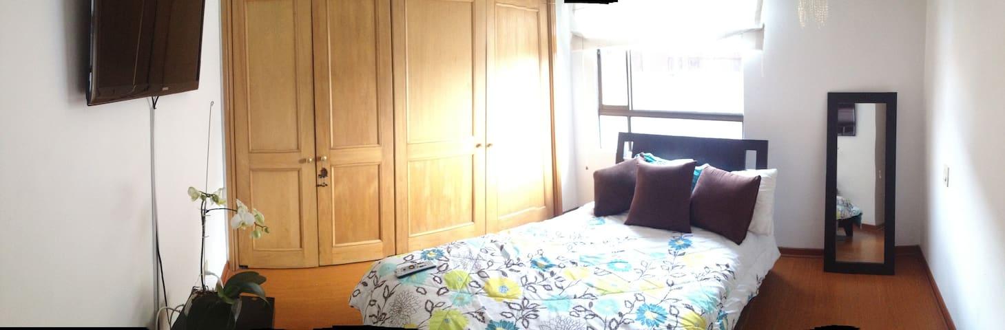 linda habitacion 2 - Bogotá - Appartamento