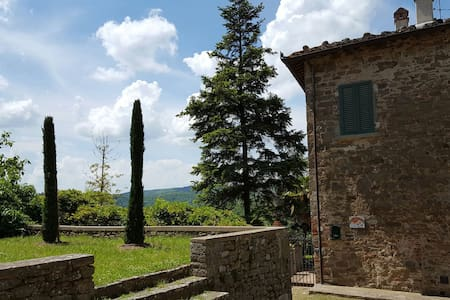 A Paradise in the heart of Chianti. - San Vincenti
