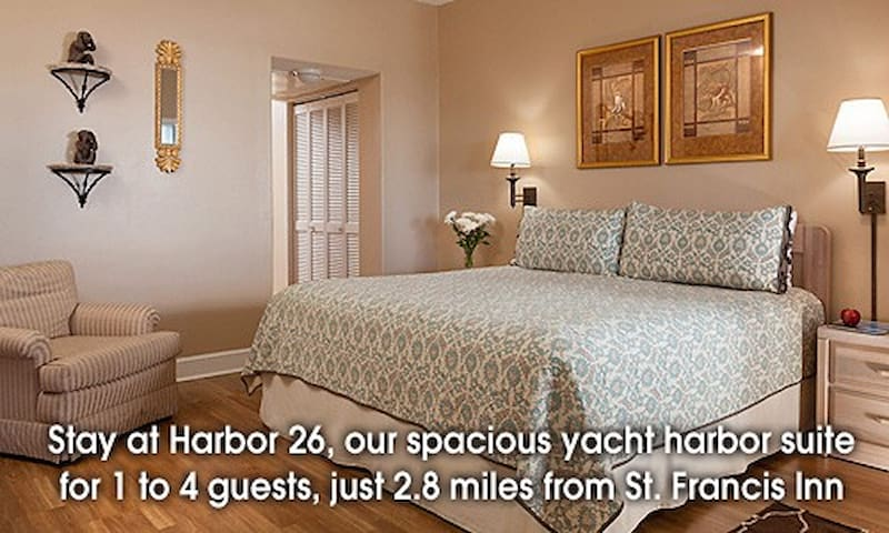 Inn at Camachee Harbor View Suite 26