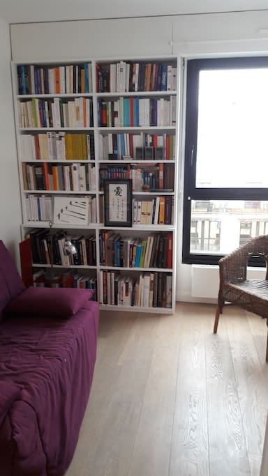 Chambre / bibliothèque