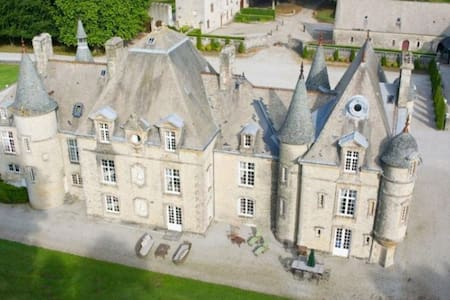 8 bd, castle, gardens, pool - Valognes