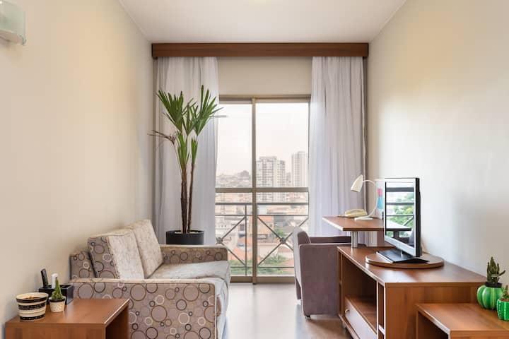 FLAT HOTEL MERCURE SÃO CAETANO- FREE VAGA&PISCINA