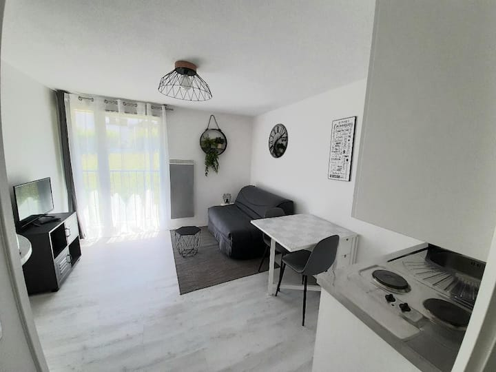 STUDIO 20m² ANNECY + Wi-Fi + parking gratuit