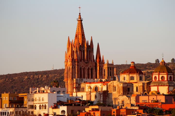 Parroquia from every room of apartment