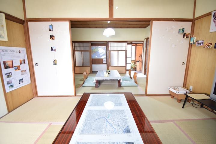 Japanese Old House in a residential area