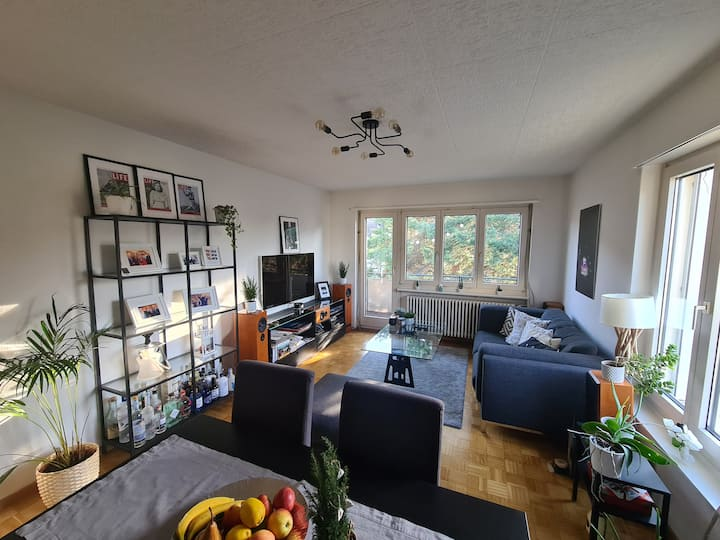 Comfy flat near Triemli city center and nature