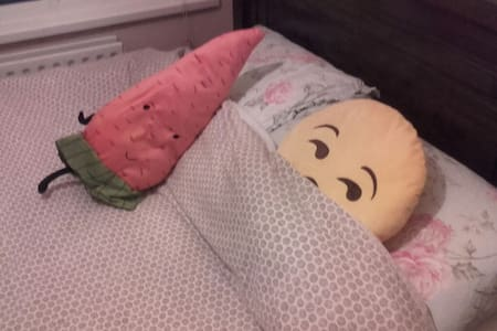 Charming & effervescent Double Room - Ballyfermot - 独立屋
