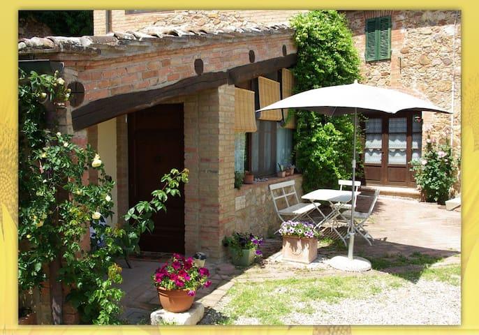 Toscana vacanza da sogno- Parata - Sovicille - Apartamento