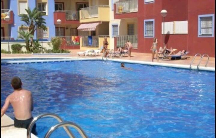 Apartamento muy tranquilo en Puerto de Mazarrón
