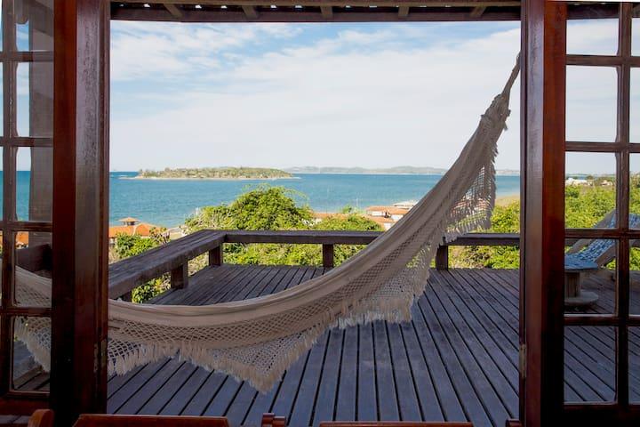 House, Buzios, Praia Rasa, Sea View, WIFI 4G