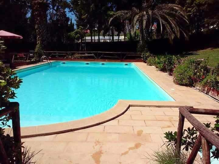 House with one bedroom in Carreiras, with shared pool, enclosed garden and WiFi - 26 km from the beach