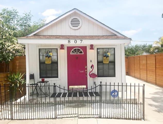 Cute, chic & unique small house