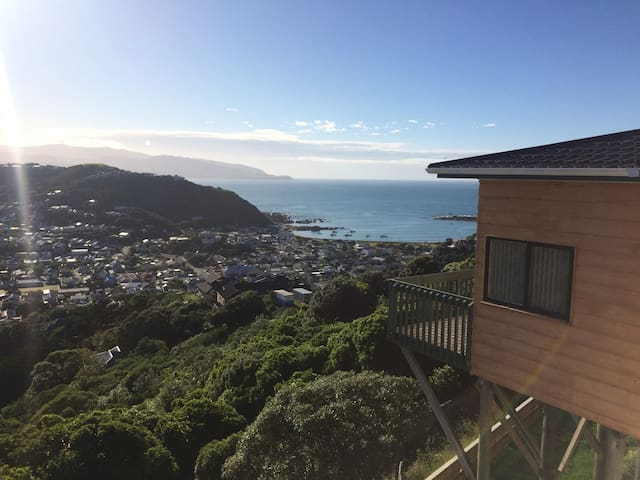 Bed down in Island Bay