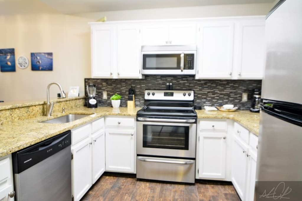 Fully equipped kitchen for all your needs!