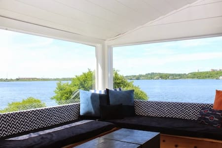 Waterfront Cottage, Fort Pond MTK