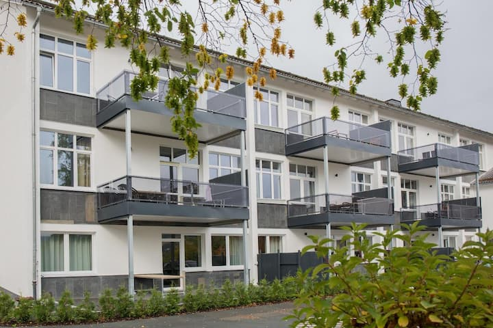 Charming apartment in Winterberg with balcony and sauna