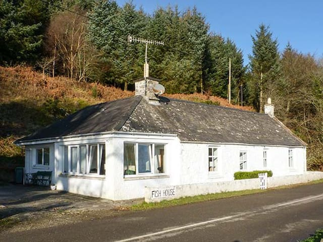 FISH HOUSE, pet friendly, with open fire in Kirkcudbright, Ref 931443
