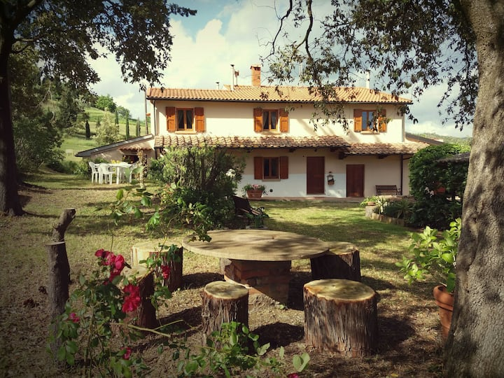 Podere Le Lame Farmhouse