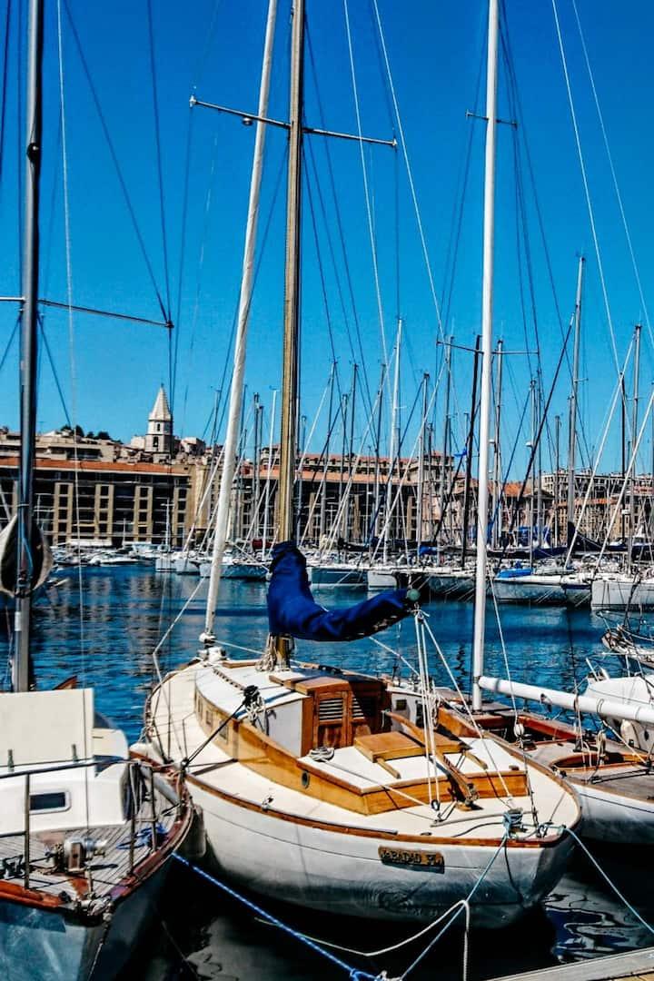 Le légendaire Vieux Port