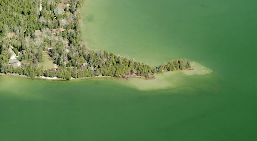 Door County Cabins on Clark Lake - The Point!!
