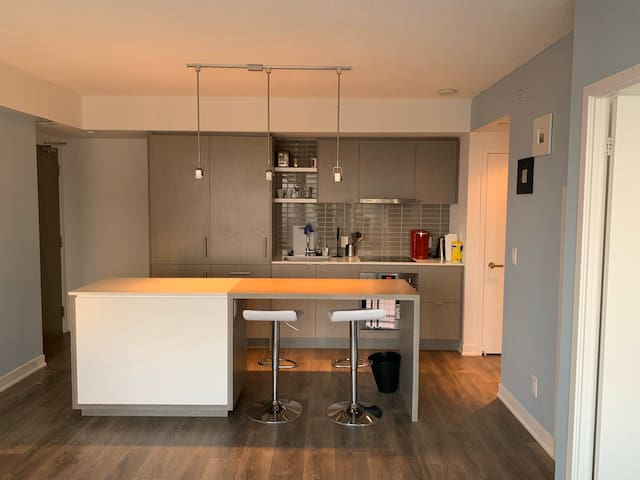 New Downtown One Bedroom Suite
