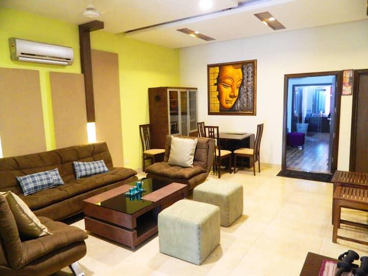 Premium & Spacious1BHK with lounge & Balcony