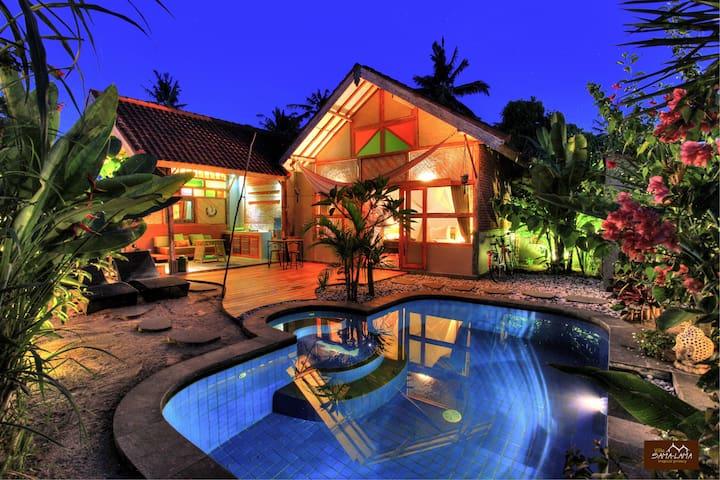 Villa SAMALAMA 1 with pool Gili Air