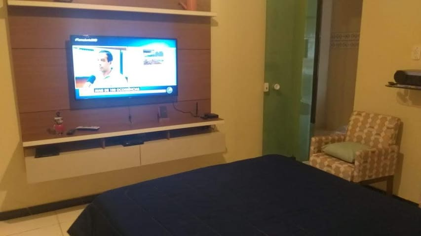 Excelente quarto privativo.