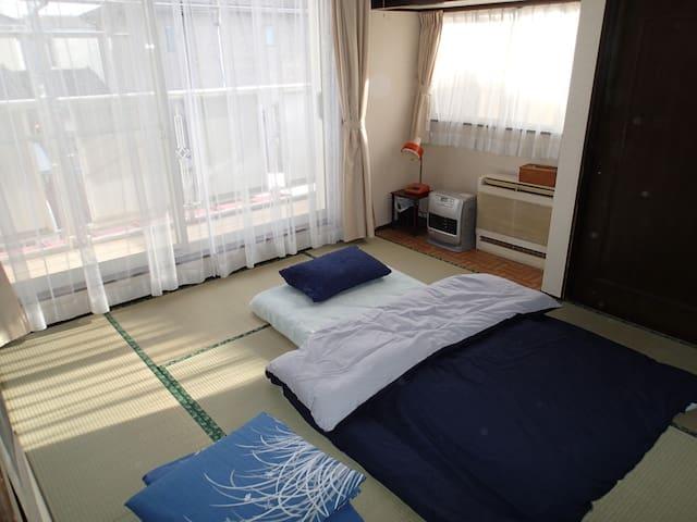 Entire house near Bujinkan Dojo 【一軒家貸切】愛宕駅徒歩13分 - Noda-shi - Casa