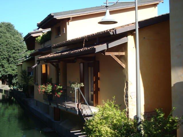 Appartamento sul fiume - Pontoglio - Daire