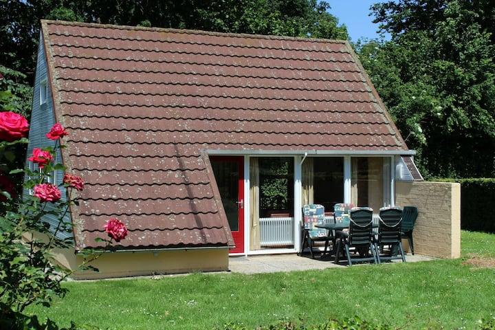 Vrijstaande 6-pers. bungalow in het Heuvelland.