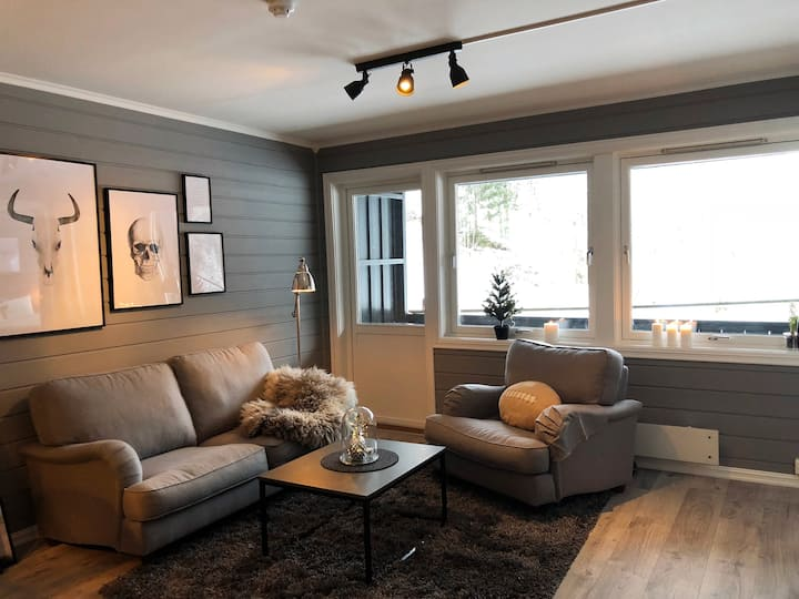 Exclusive condo in quiet surroundings in Hemsedal