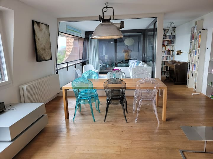 Splendid  3-bedroom apartment (150m2) with a view