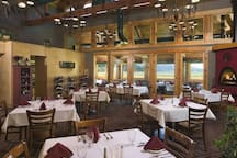 One of the several dining options at the Ranch is the The Ruddy Duck.