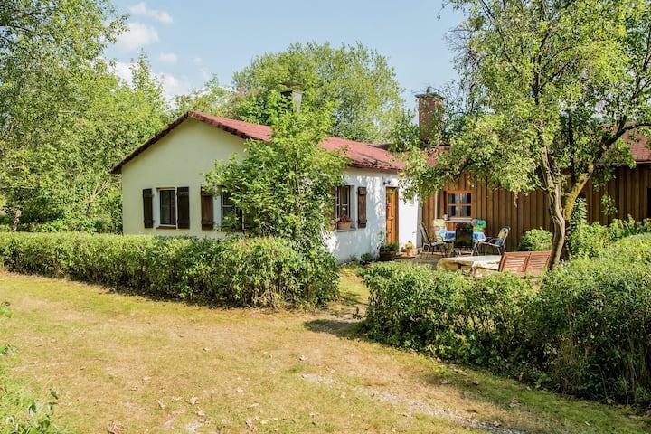 Chalet de luxe à Schnabelwaid en Bavière avec sauna privé